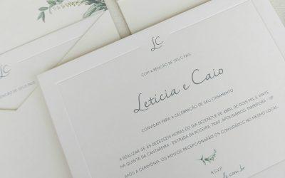 Lápis de Noiva | Tudo sobre convites minimalistas